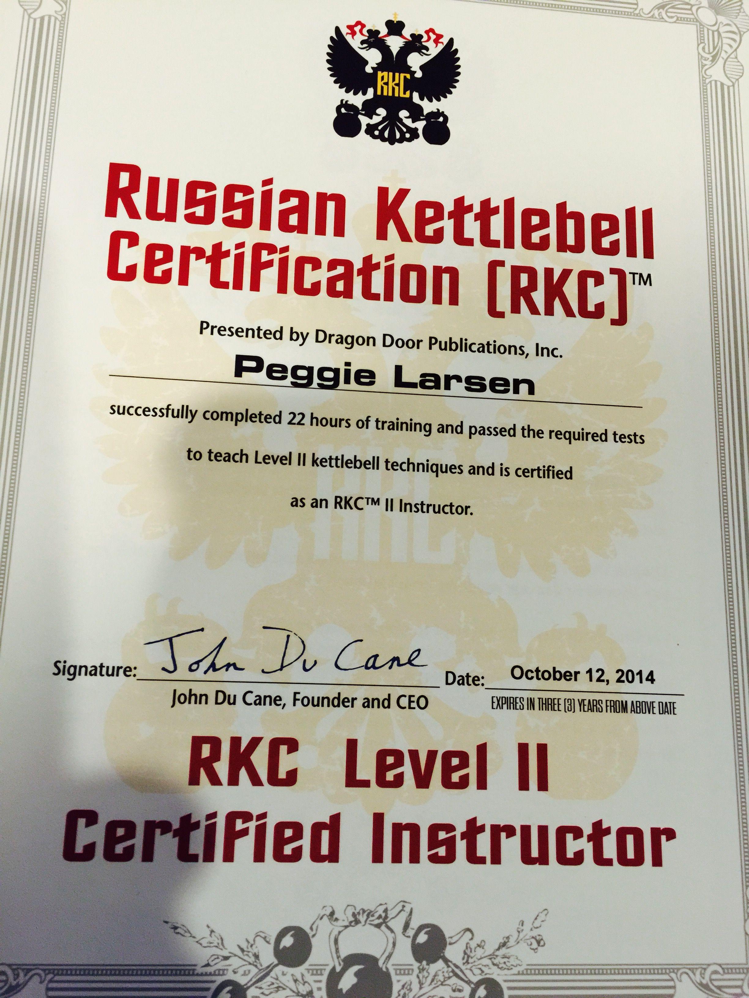 motivation kettlebell fitness certification russian peggie