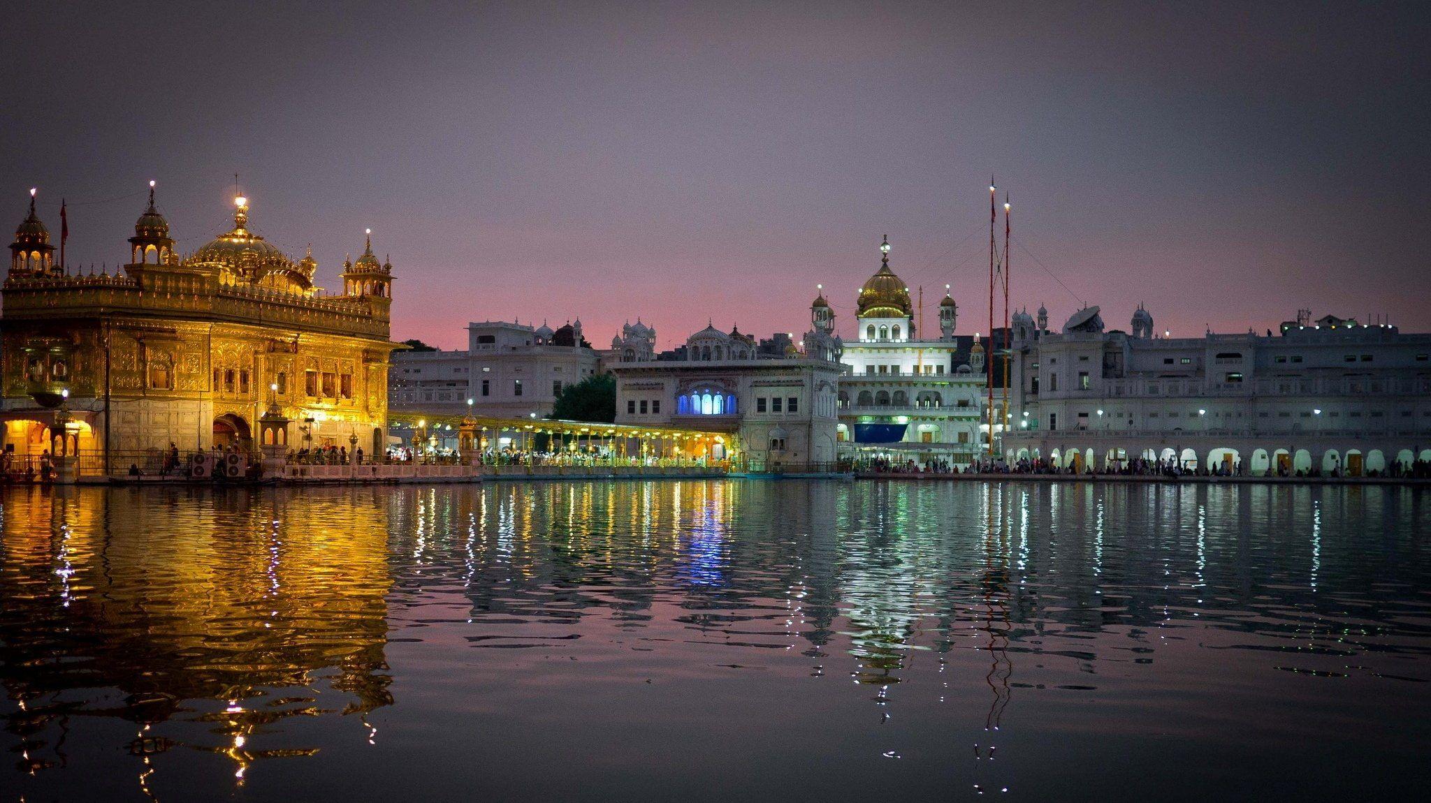 Amritsar India Punjab 1080p Wallpaper Hdwallpaper Desktop Amritsar Harmandir Sahib Punjab