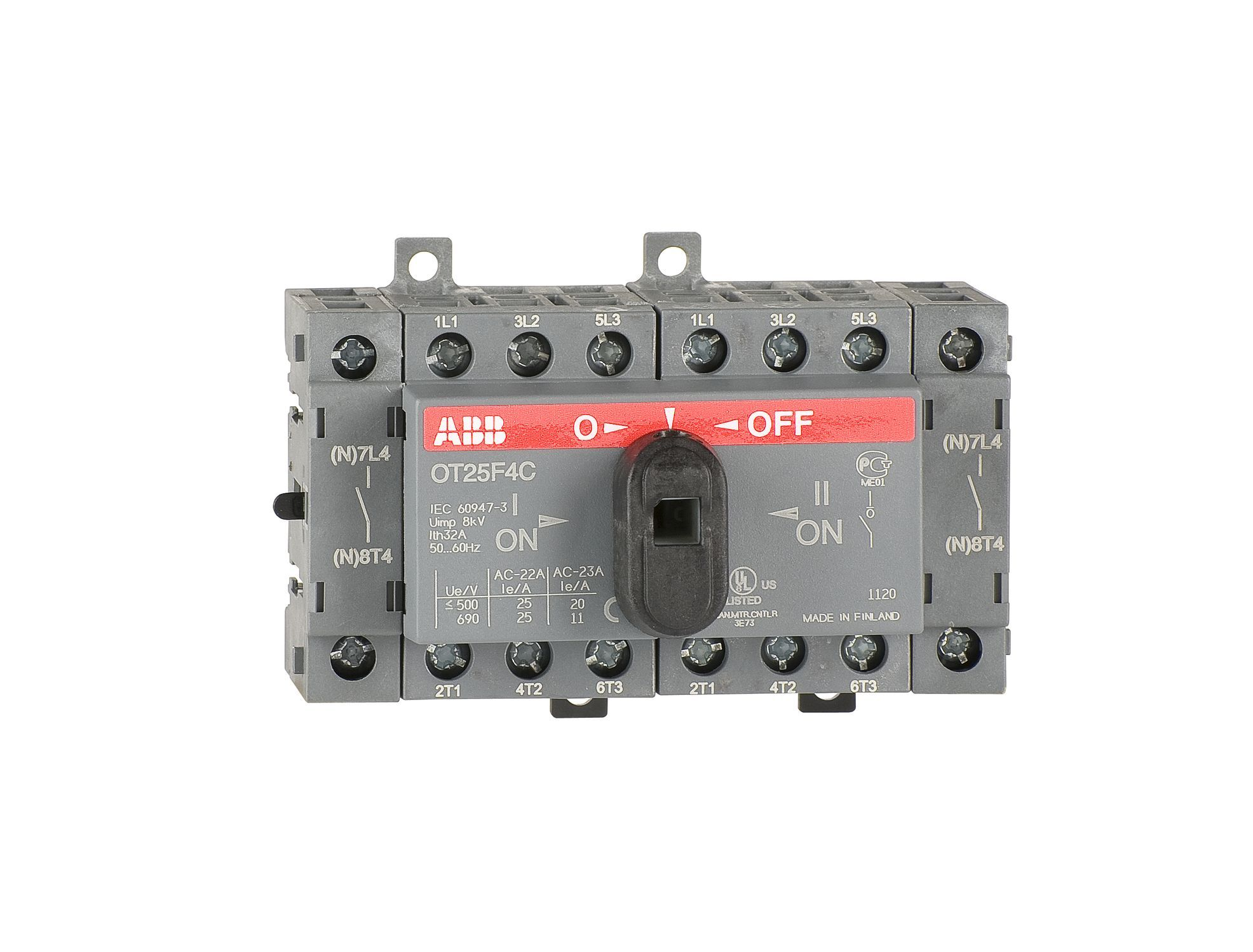 Manual changeover Switch from ABB brand. To order now,https ...