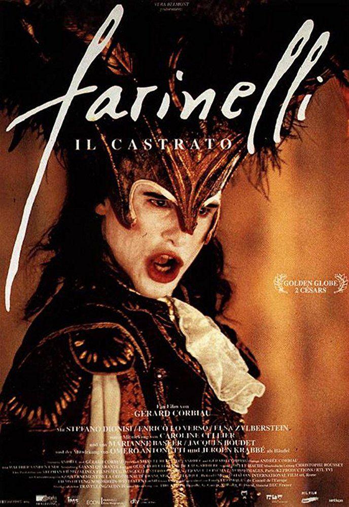 Farinelli (1994) in 2020 Movie posters, Castrato, Cinema