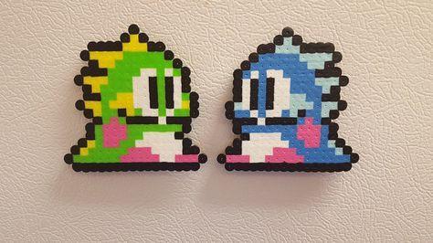 Bub and Bob Bubble Bobble Bust-A-Move Bead Sprite