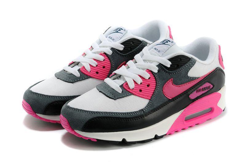 Buy Womens Nike Air Max 90 Essential WhitePink FoilBlack