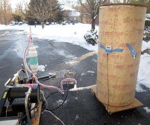 Homemade Liquid Nitrogen Generator Liquid Nitrogen Diy