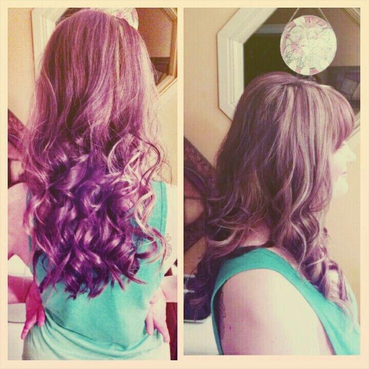 Partial foil and curls