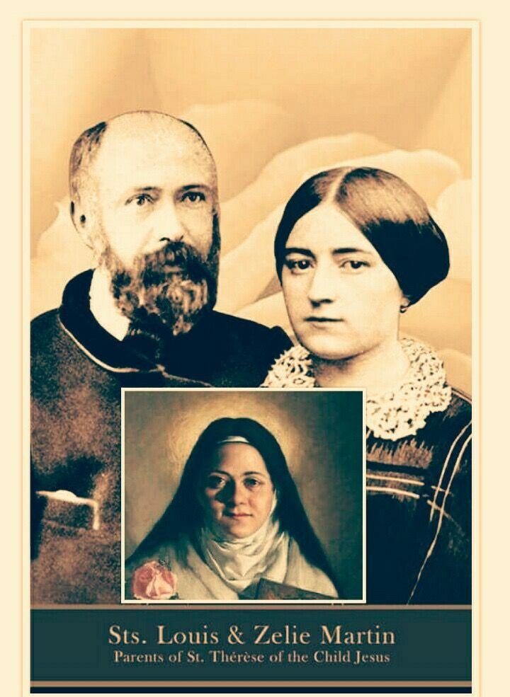 Three saints, one family