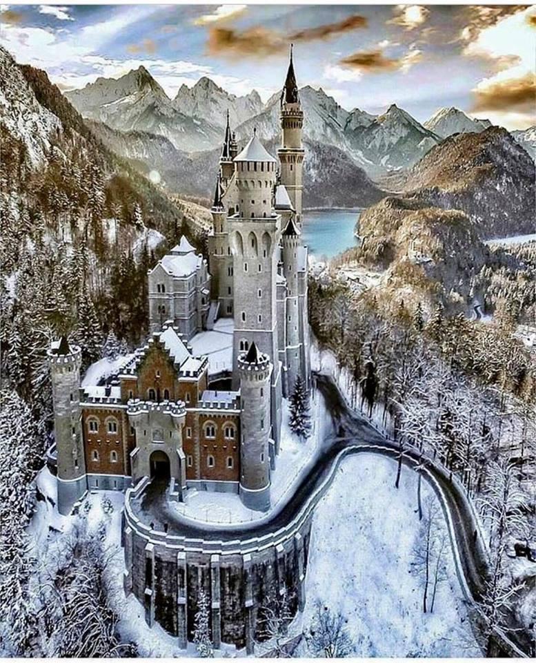 Ancient Origins Neuschwanstein Castle Sleeping Beauty Castle Beauty Landscapes