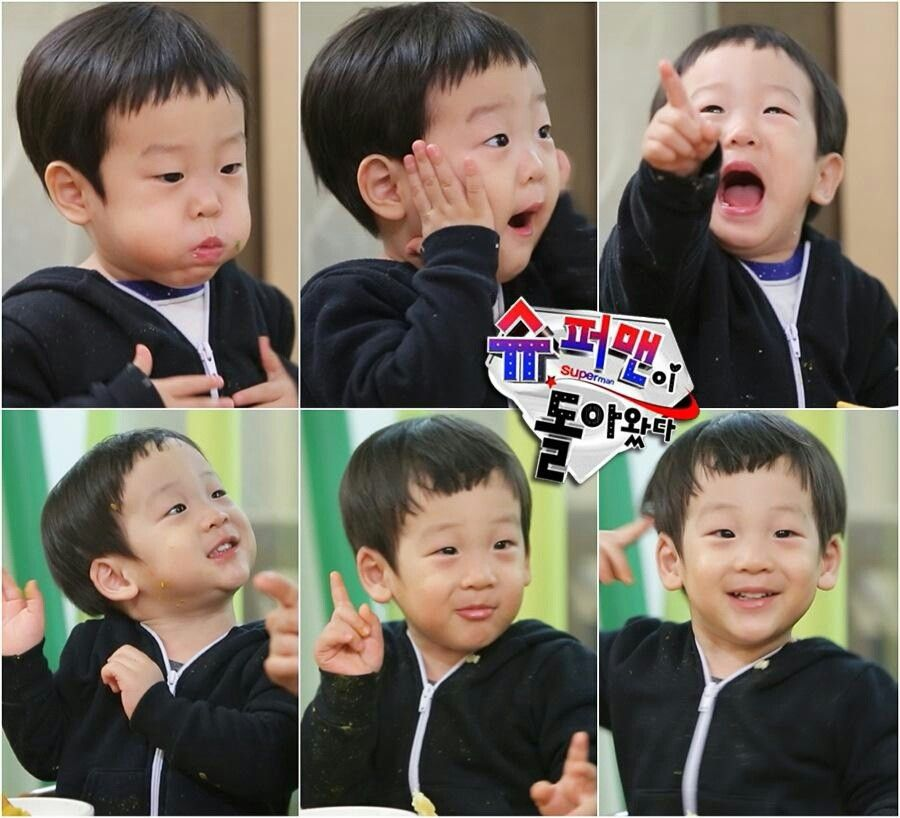 Baby twins: seoeon & seojun. The superman returns.