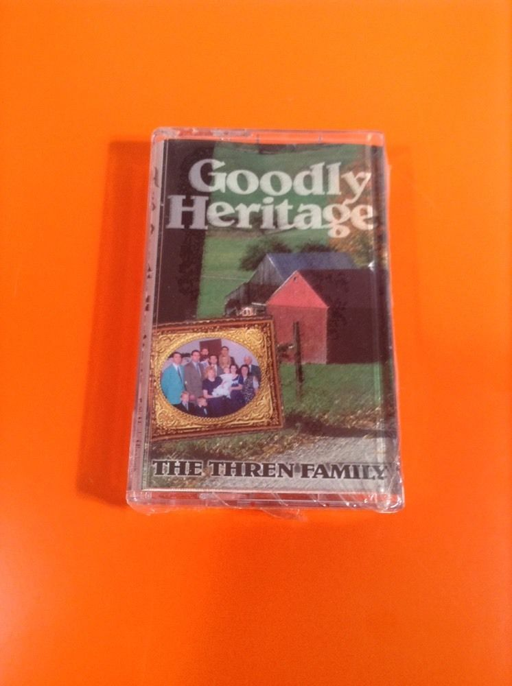 Goodly Heritage The Thren Family Cassette Tape New In