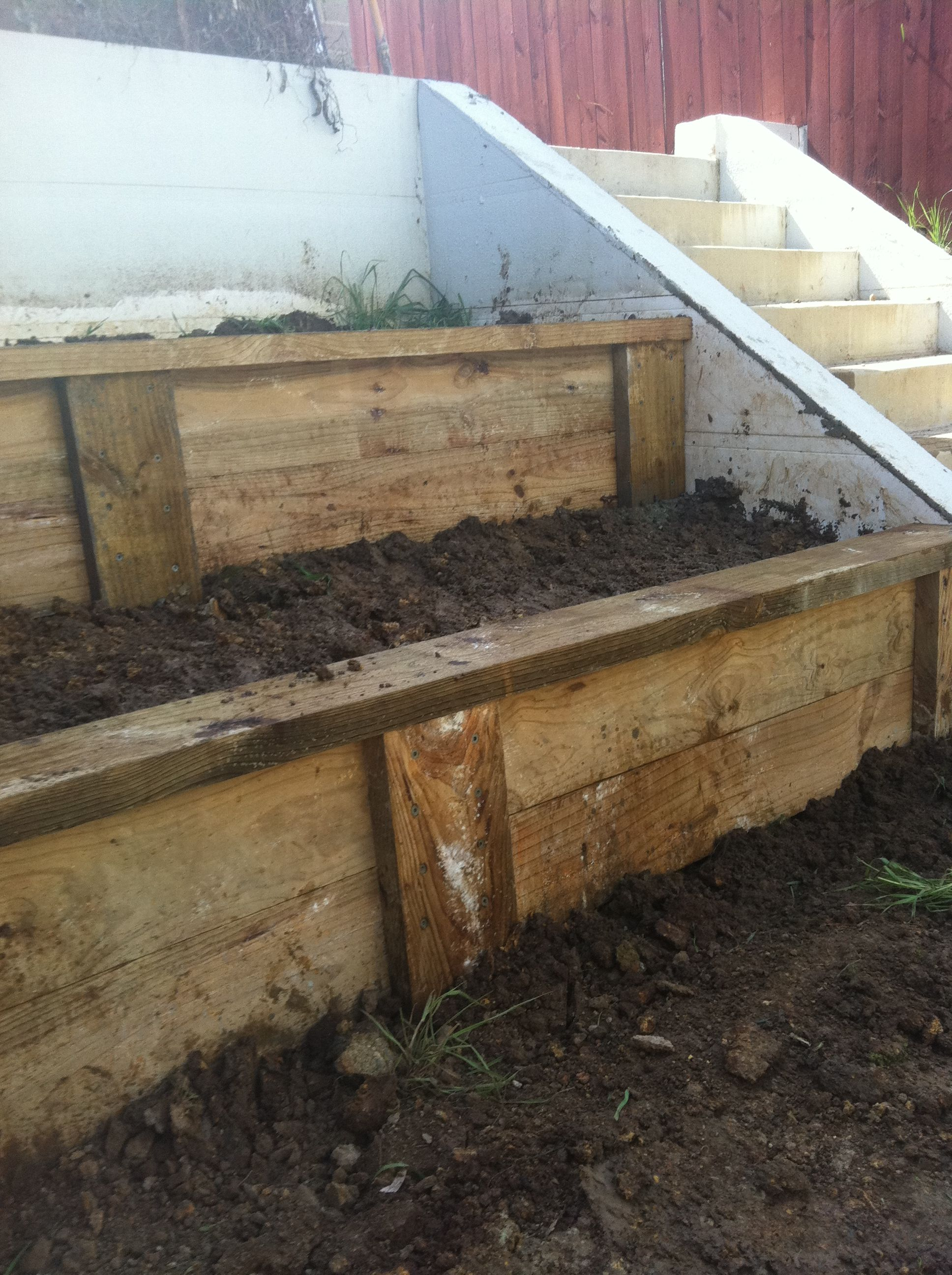 Www Pavingcanberra Com Retaining Wall Terraced 2 Levels