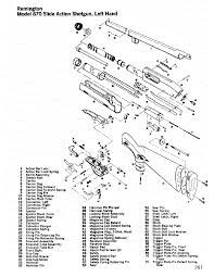 image result for diagram of a remington 870 express magnum pump rh pinterest ch