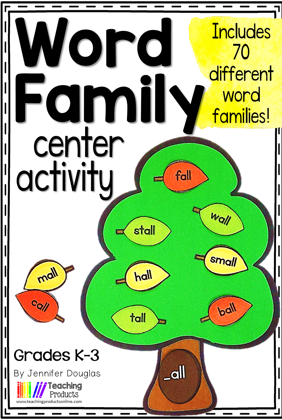 Word Family Center Activities   Word family centers, Word ...