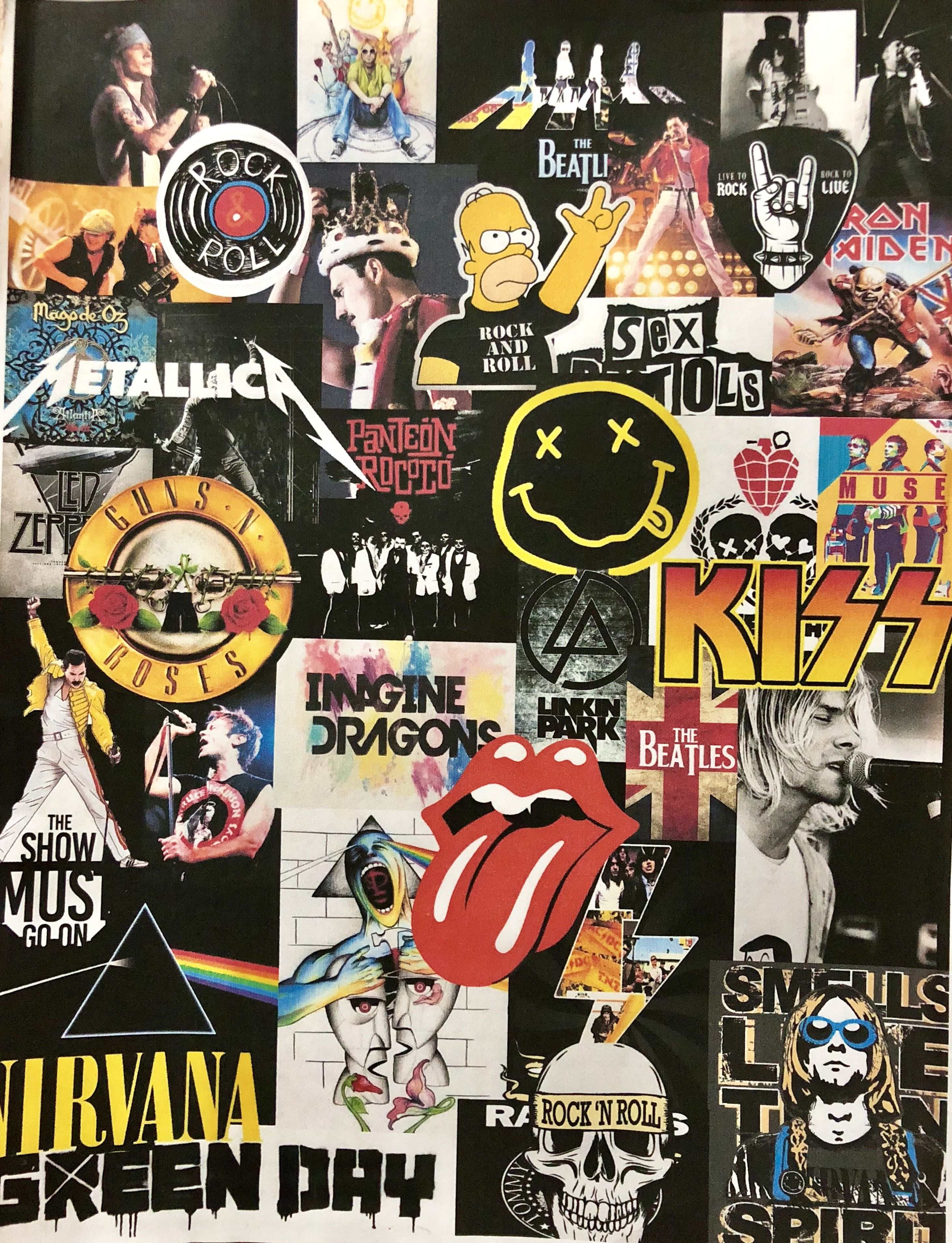 Rock And Roll Band Wallpapers Rock Band Posters Rock Background