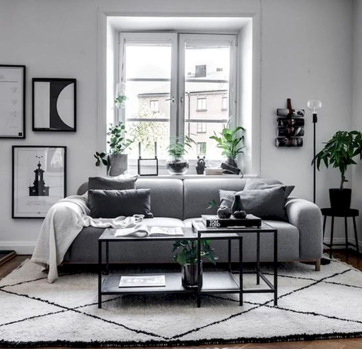 70 Stunning Grey White Black Living Room Decor Ideas And Remodel images