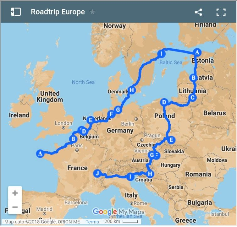 Van Amenage Mode D Emploi Blog Du Voyage Road Trip Pologne Voyage Road Trip