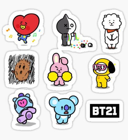 Bangtan Boys Stickers