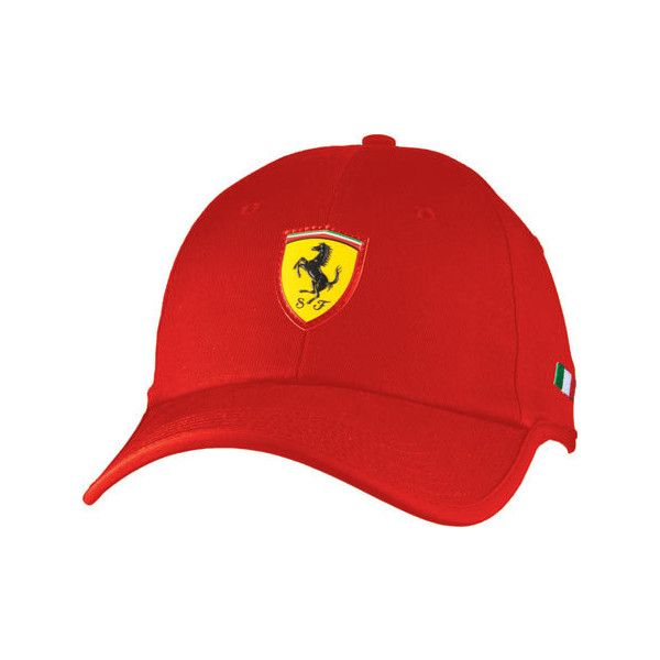 Puma Ferrari Flowback Cap Red Embroidered Caps Embroidered Hats Red Hats