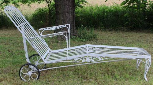 Woodard Chantilly Rose Chaise Lounge Offered On Ebay For 450 00