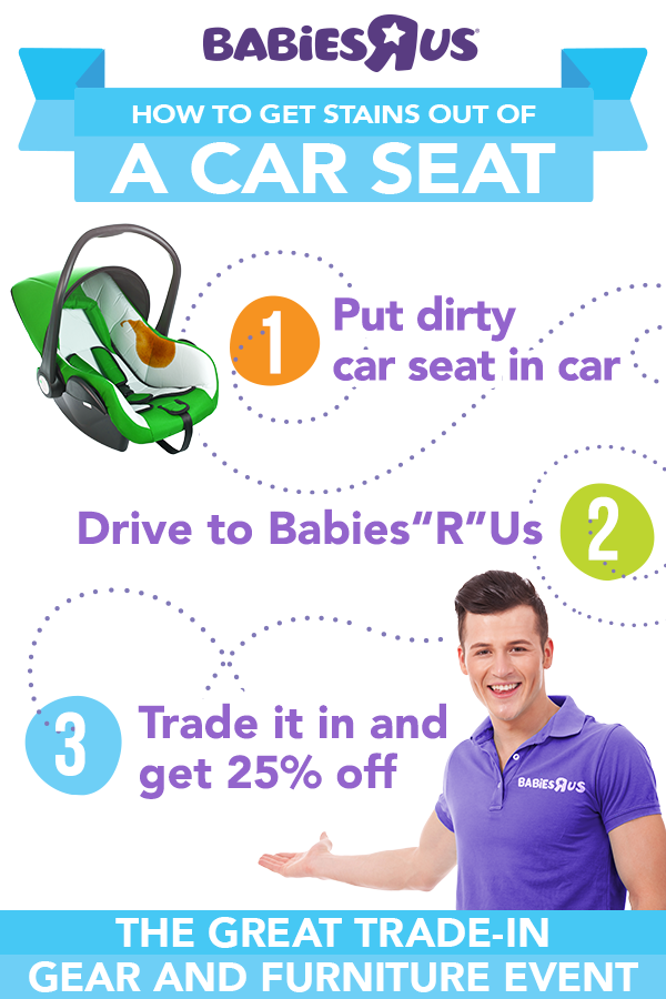 Wondering What To Do With Your Old Car Seat Trade In Your Used