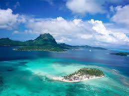 Tahiti Now Please Polinesia Francese Spiaggia Paesaggio