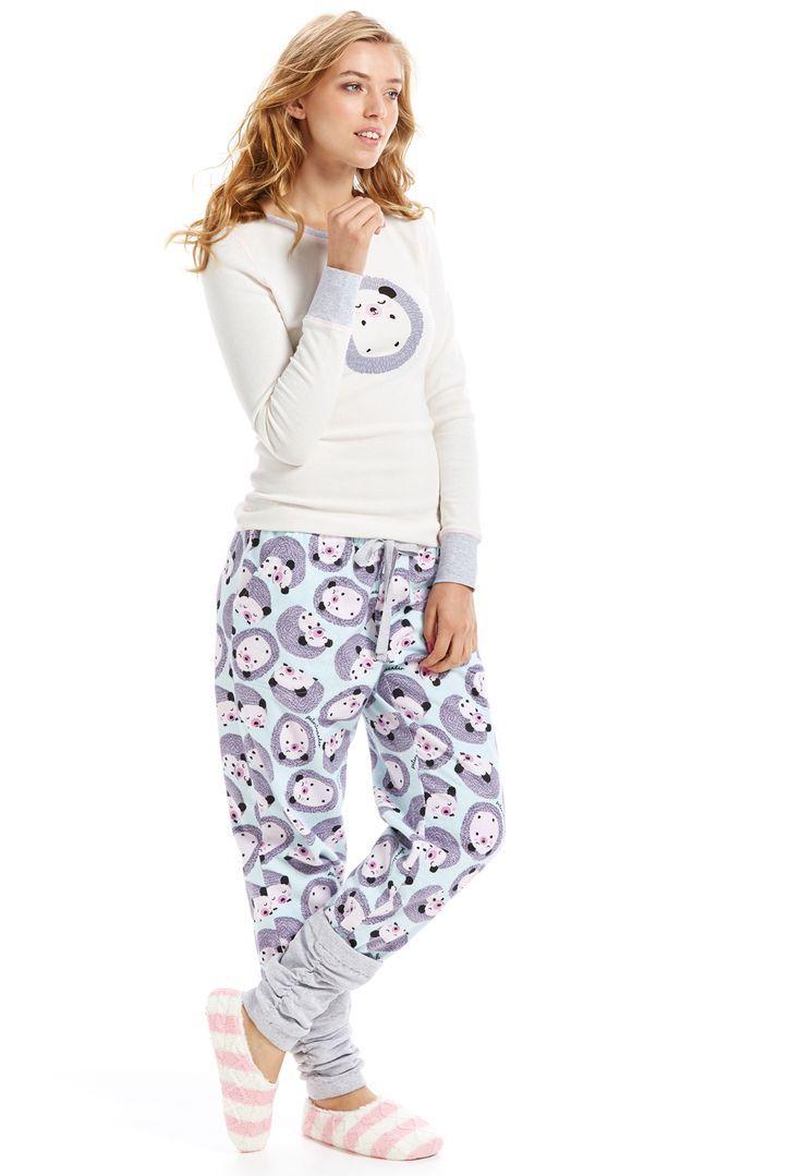 127b43f99fe1 Image result for hedgehog slogan nightwear