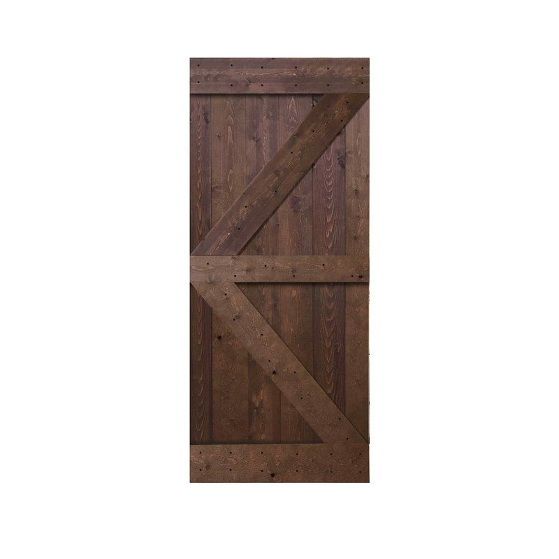 Paneled Wood Room Dividers Barn Door Without Installation