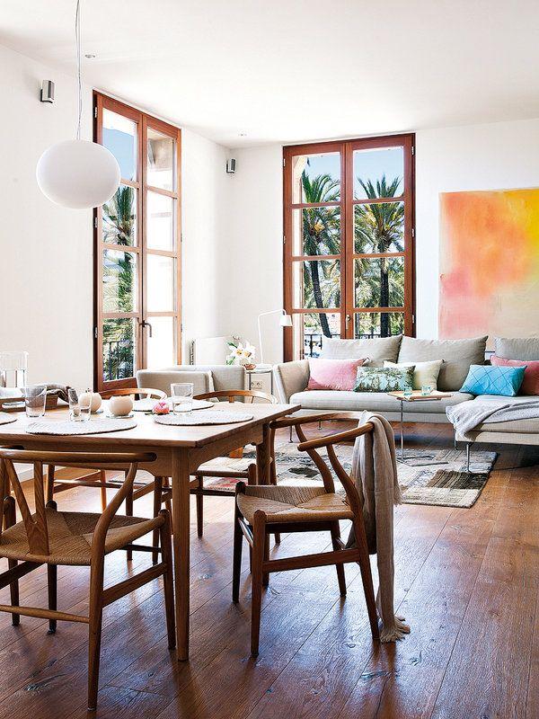 A mesa puesta... comedores decorados con estilo | El comedor ...