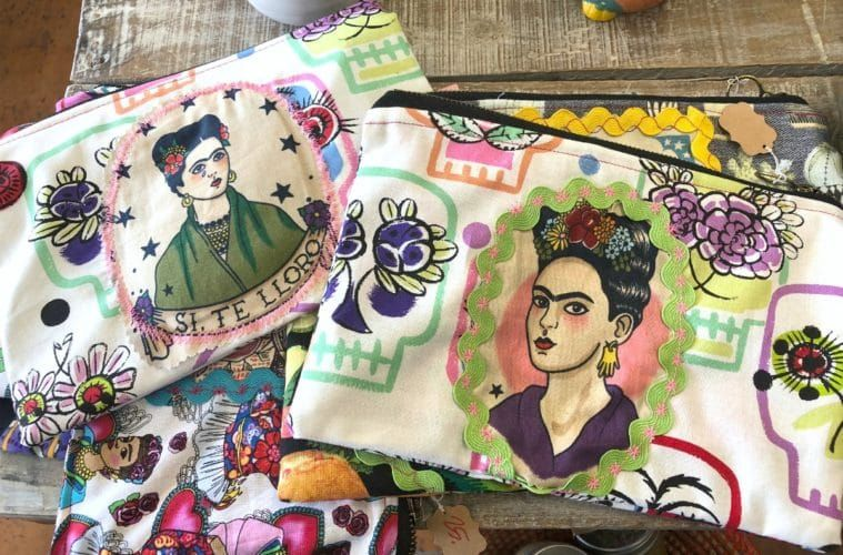Sewing for stress relief Crafty, Wooden sewing box