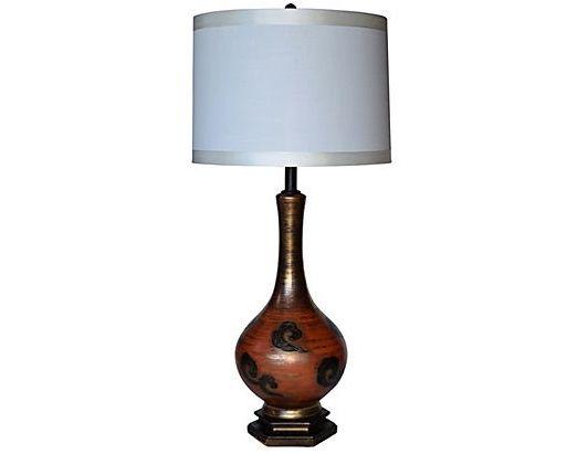 1950s Modernist Ceramic Lamp