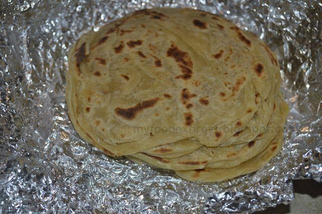 Parotta making recipe