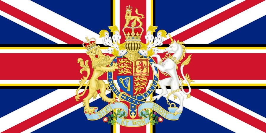 Commonwealth Monarchy of the United Kingdom Flag by Schneerf | British empire flag, United kingdom flag, England flag