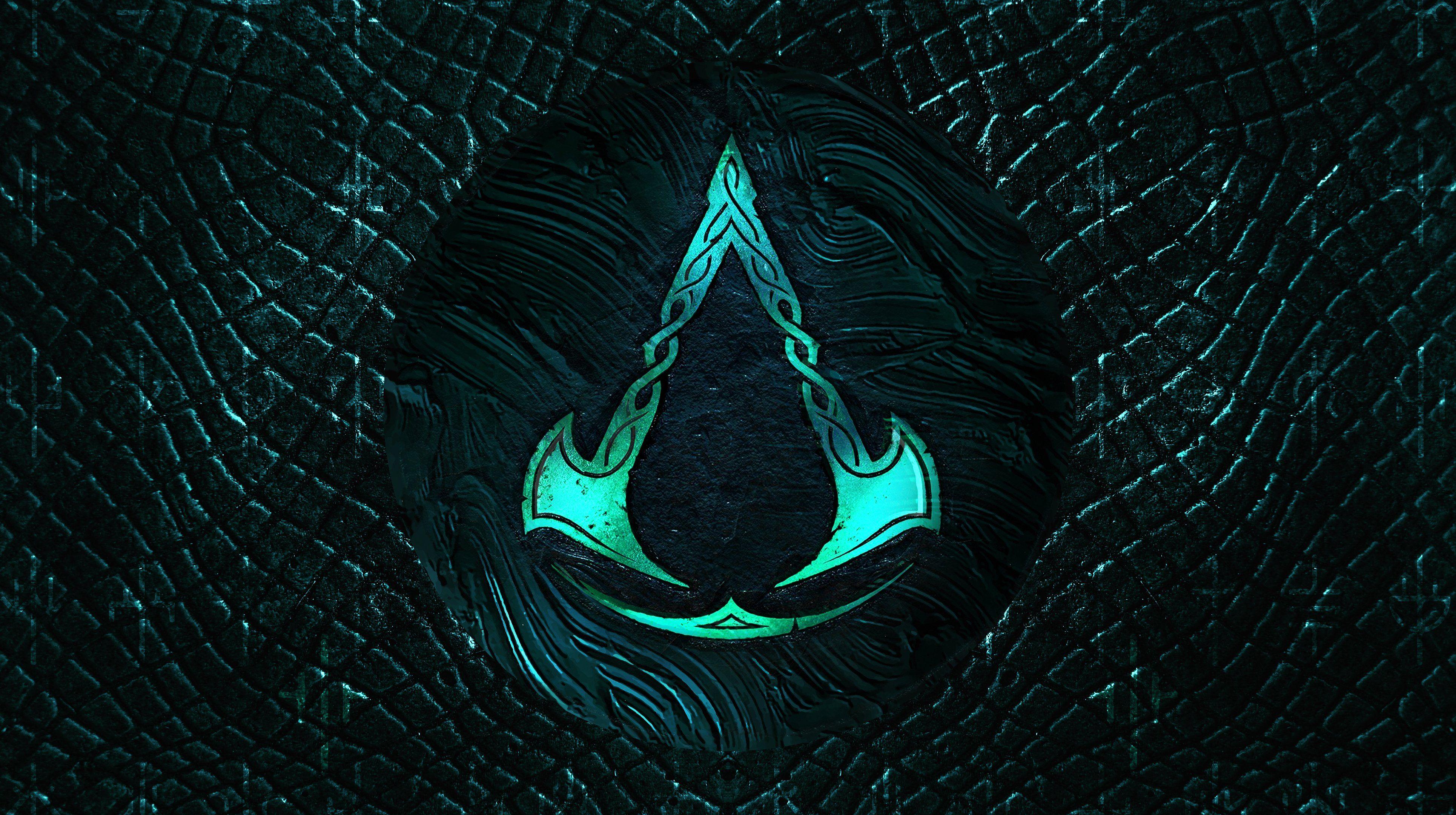 Assassins Creed Valhalla Logo 4k Assassins Creed Valhalla Logo Wallpapers Assassins Creed Val Assassin S Creed Wallpaper Assassin S Creed Assassins Creed Logo