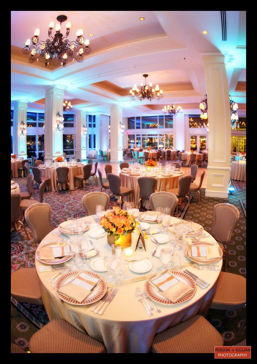 Wedding Reception In The Boston Harbor Hotel Wharf Room