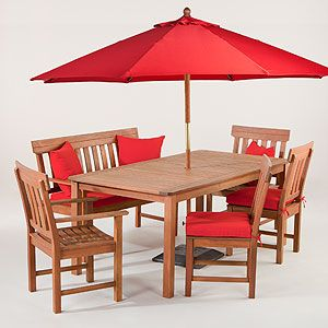 Catalina outdoor dining collection at cost plus world market outdoor entertaining pinterest for World market beer garden table