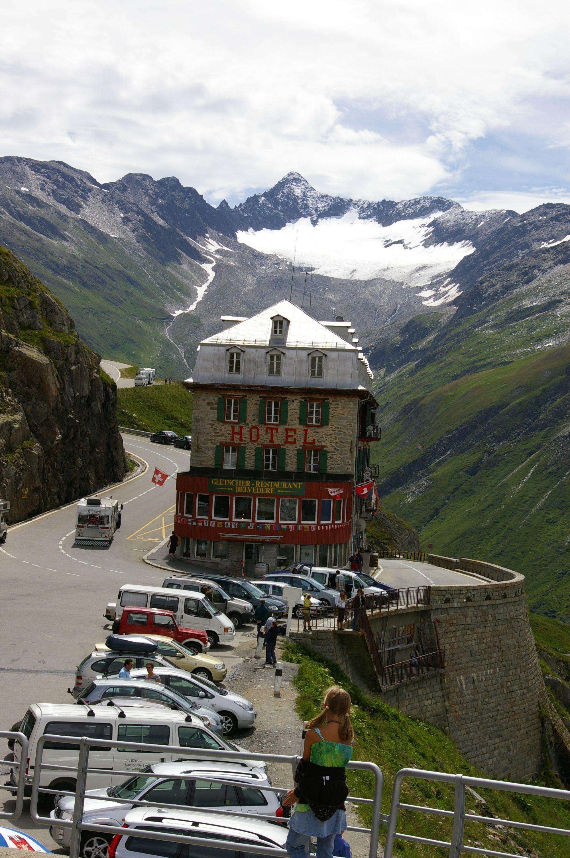 Gletscher restaurant belvedere