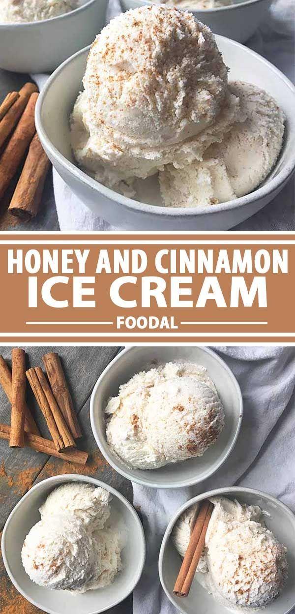 Cinnamon and honey ice cream receita ccuart Images