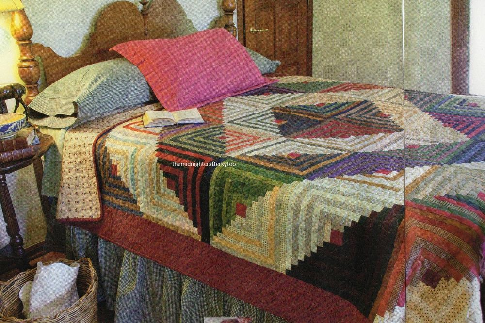 Heartland Quilt Pattern Pieced LL | Log Cabin Quilts | Pinterest ... : quilting from the heartland - Adamdwight.com