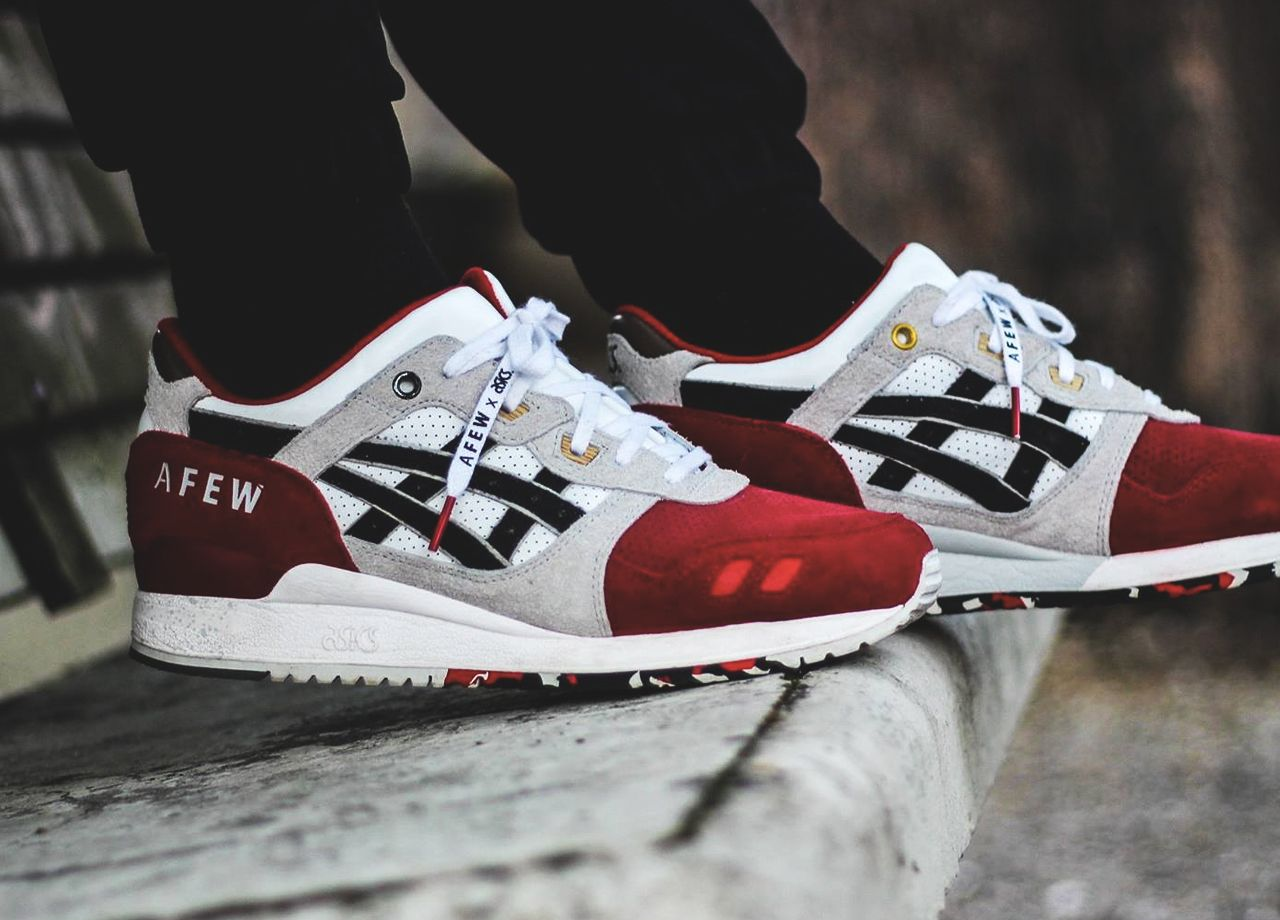 best website de36f dca45 Afew x Asics Gel Lyte III Koi - 2015 (by Samy Mimou) | Kickz ...