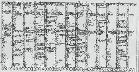 A Roman Calendar Since Rome Was Founded Long Before Christ They