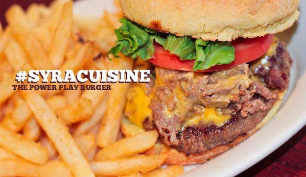 Syracuisine Specialty Food Shop Burger Food