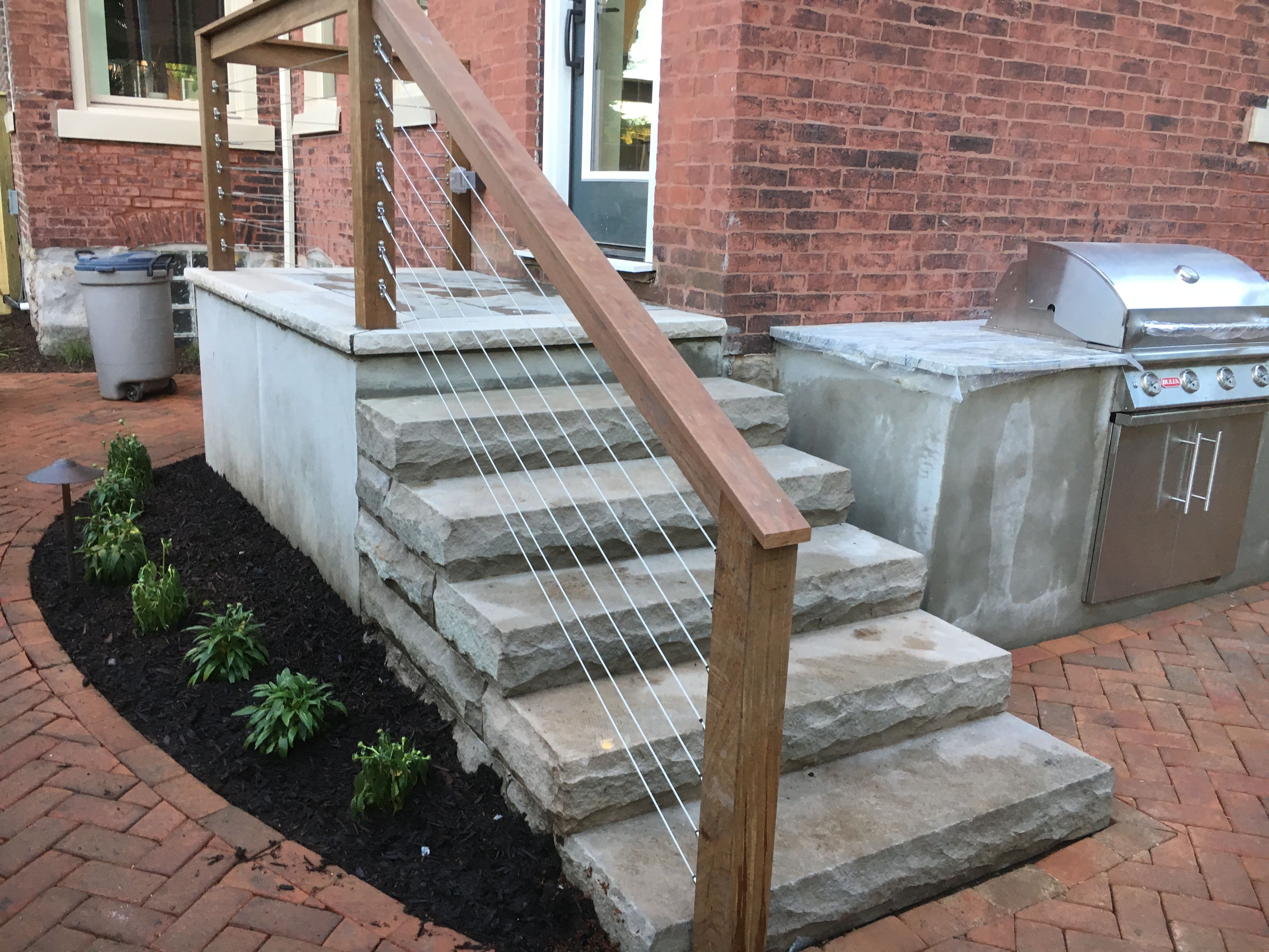 Best Sandstone Steps Skim Coated Concrete Block Staircase With 400 x 300