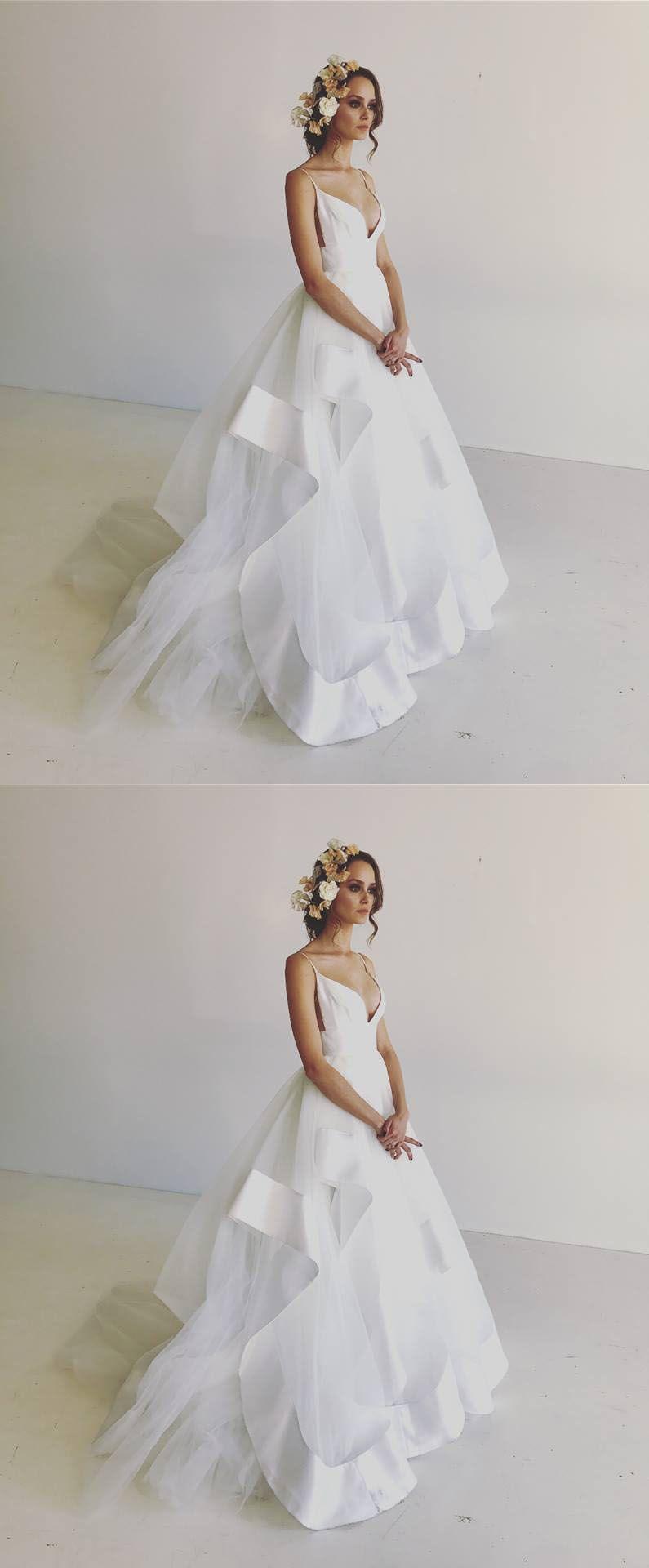 tulle dress long white