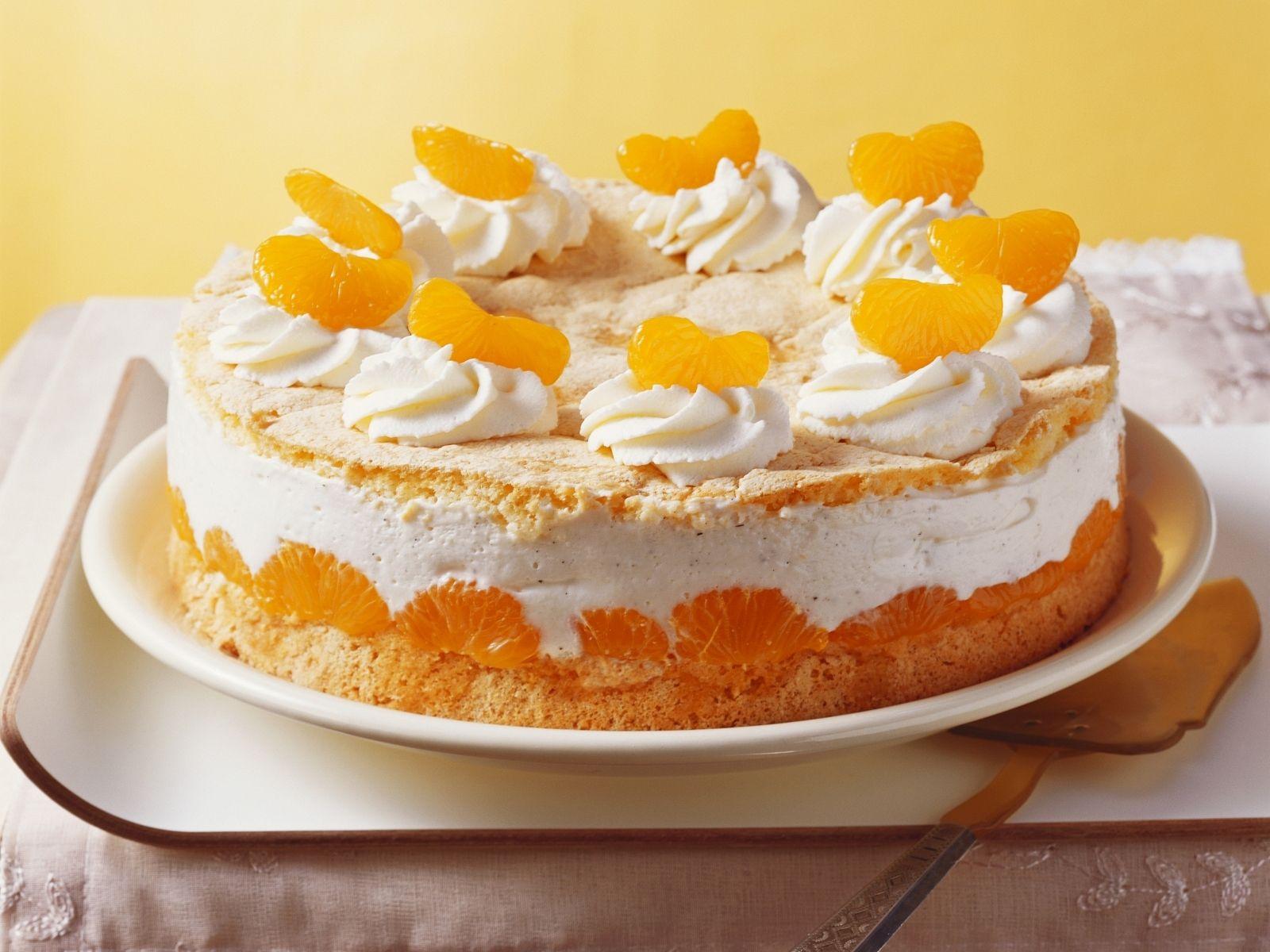 Mandarinentorte Rezept Speisen Pinterest 50er Kuchen Und Backen
