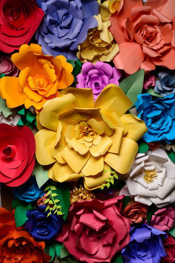DIY Paper Flower Decorations | Flower decoration, Diy paper and ...