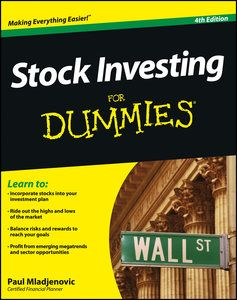 Pdf Stock Investing For Dummies By Paul Mladjenovic Tutorial Investing Ebook Investing In Stocks Stock Investing For Dummies Investing