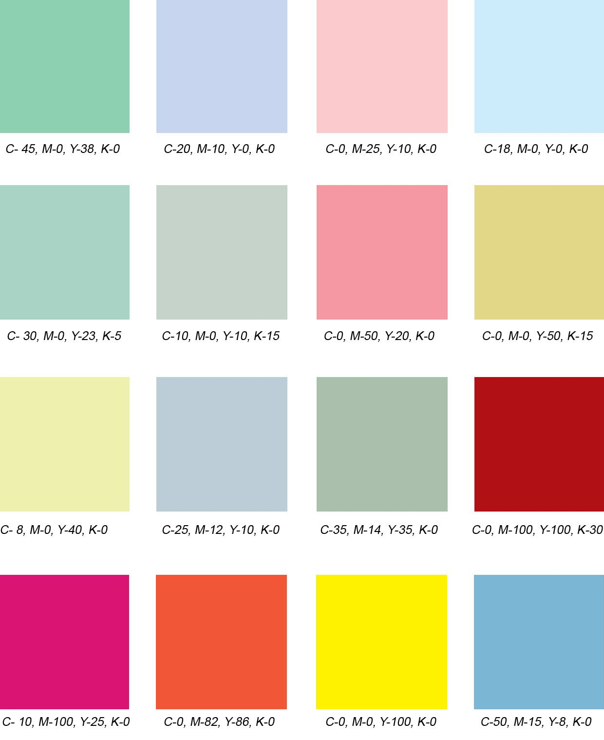 Design Practice Colour Palettes Colour Palettes