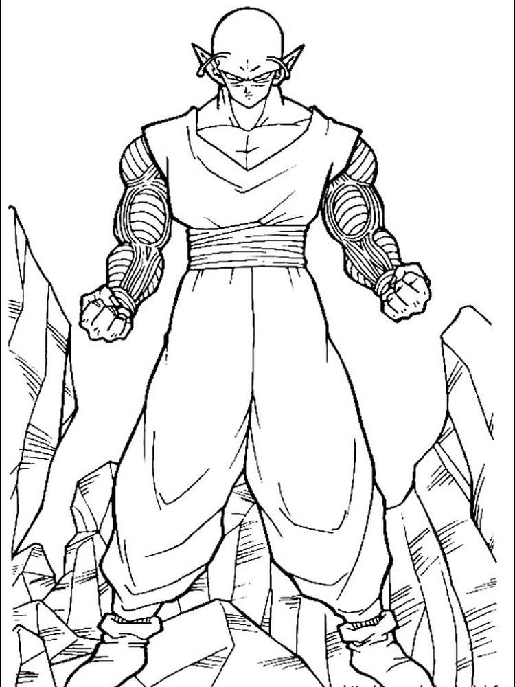 Dragon Ball Z Coloring Pages Broly The Following Is Our Dragon