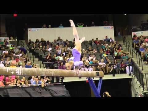 Gymnastique : Les chorés de poutre - YouTube