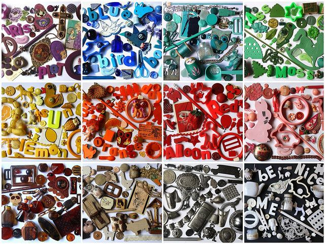 Mosaic Item Ideas from Colour Collages by Betty Jo Designs