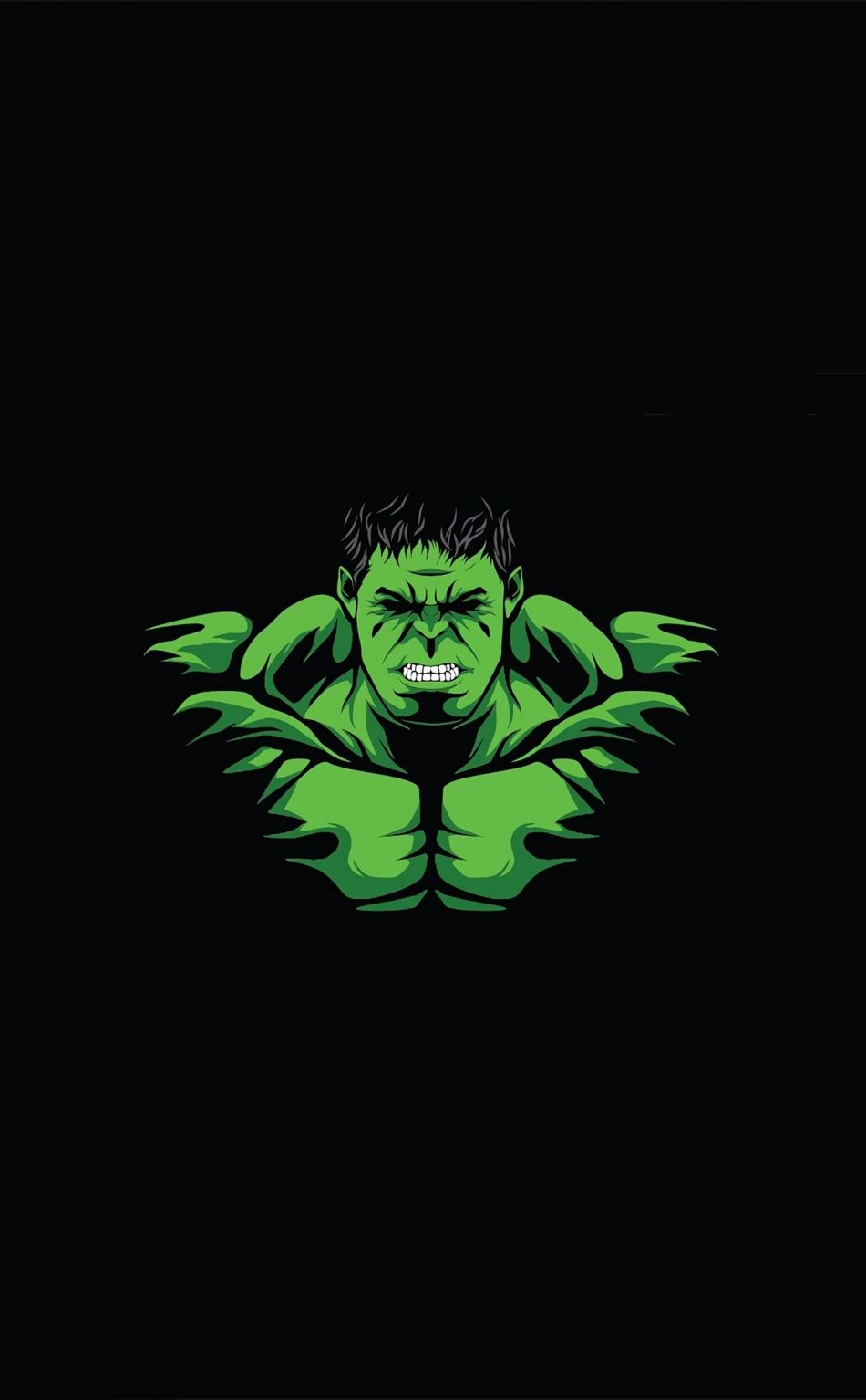 950x1534 Hulk Angry Green Man Minimal Wallpaper Hulk Art Cartoon Wallpaper Hd Cartoon Wallpaper