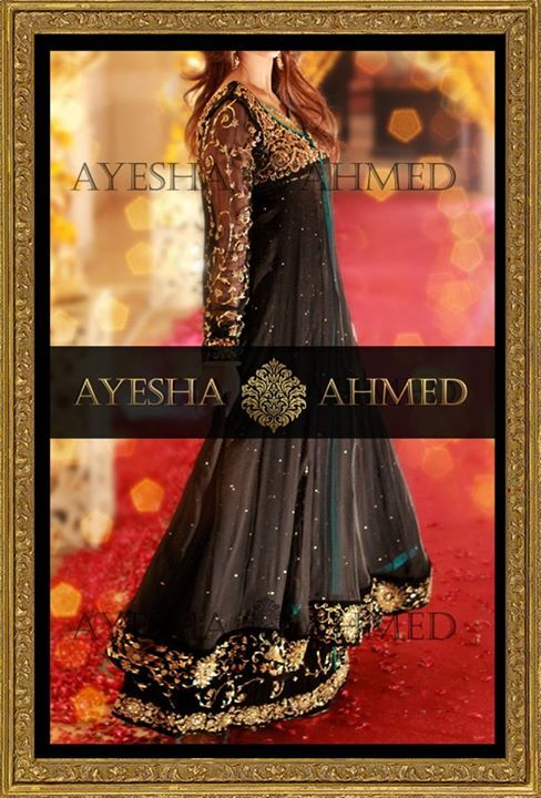Ayesha Ahmed Gorgeous Bridal Wear Dresses Collection 2013 (3)